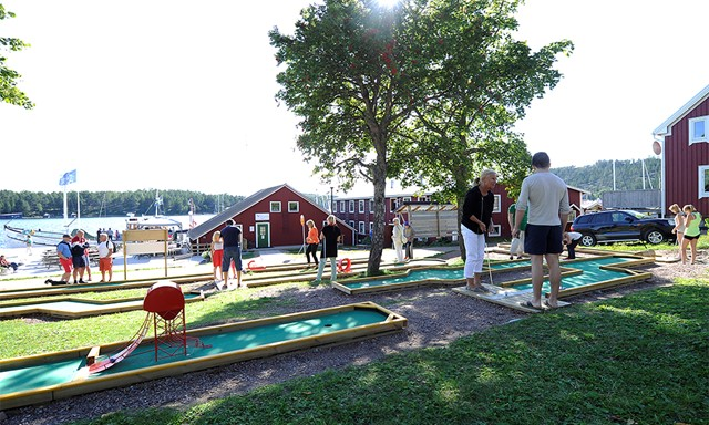 Mini Golf at Ulvön
